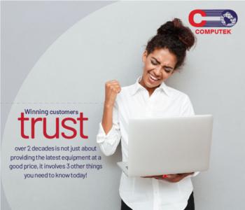 Winning Customer's Trust over 2 Decades