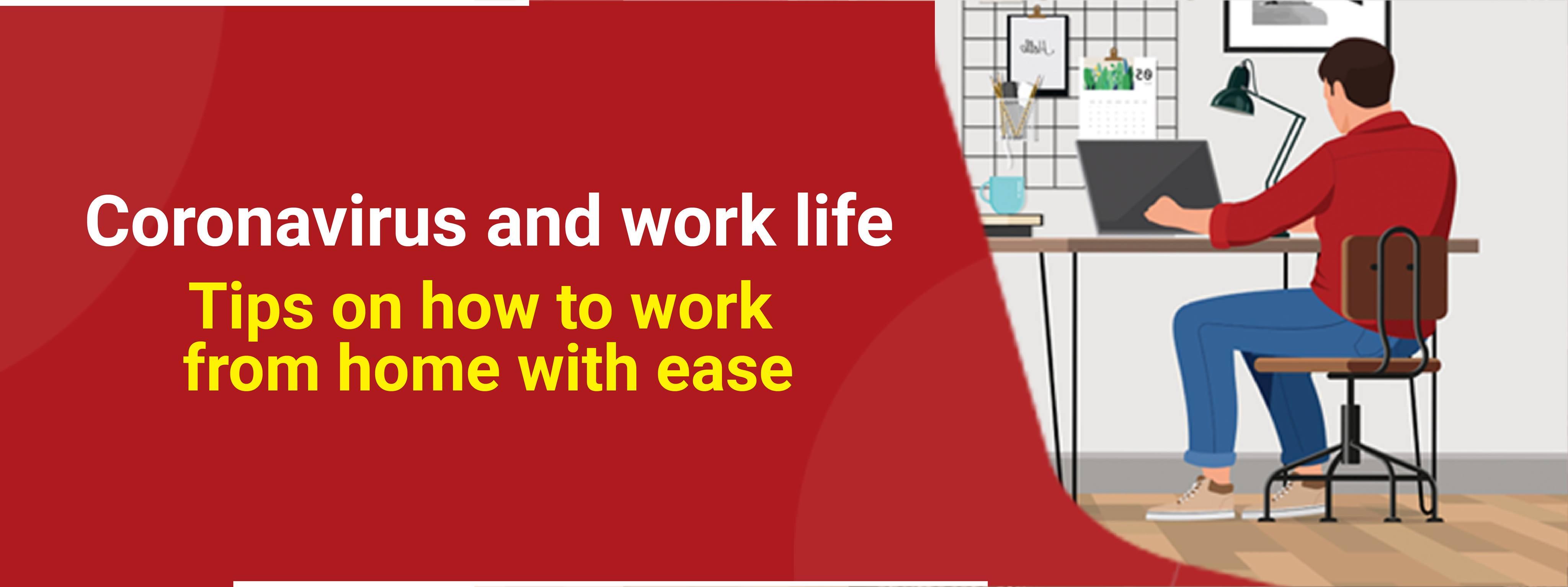 Corona virus and work life